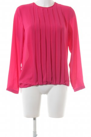 Seidensticker Schlupf-Bluse pink Business-Look