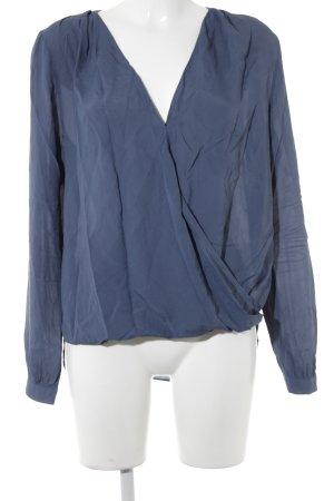 Seidensticker Schlupf-Bluse blau