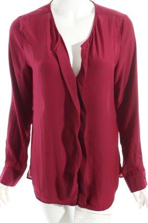 Seidensticker Schlupf-Bluse purpur Eleganz-Look