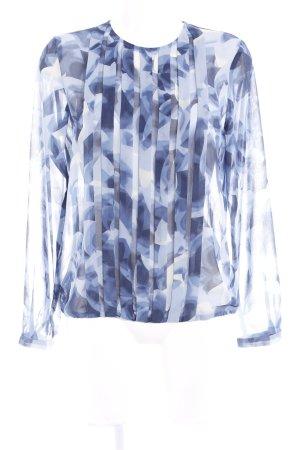 Seidensticker Transparenz-Bluse florales Muster Casual-Look