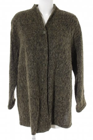 Seidensticker Wool Jacket olive green-green grey flecked casual look