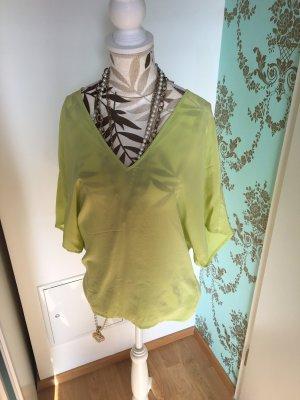 Drykorn Kimono blouse neongeel