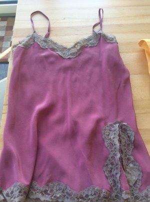 Falconeri Haut en soie violet
