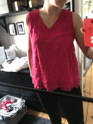 Seidentop pink hallhuber