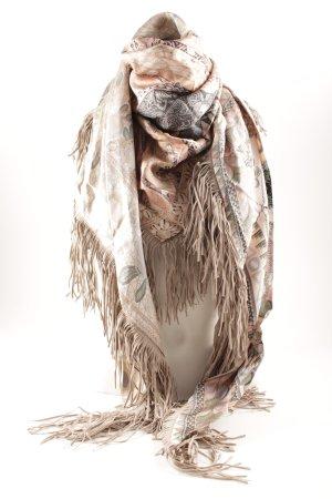 Pañuelo de seda estampado con diseño abstracto elegante