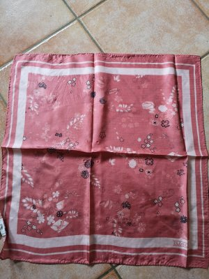 Closed Bufanda de seda albaricoque-rosa empolvado