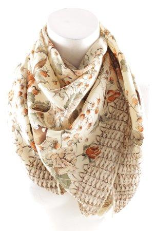 Seidentuch florales Muster Elegant