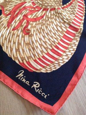 Seidentuch Halstuch Nina Ricci Vintage Schal Original