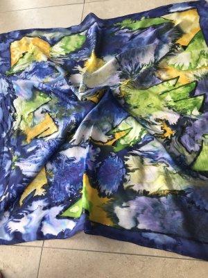 Seidentuch handrolliert batik Look