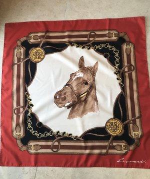 Seidentuch Pferd Leonardi 90x90 cm