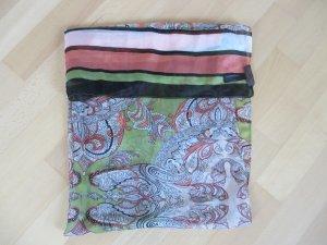 s.Oliver Silk Scarf multicolored silk