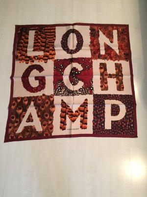 Longchamp Pañuelo de seda multicolor