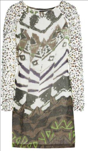 Seidentunika Ophyla von Antik Batik bestickt mit Pailletten