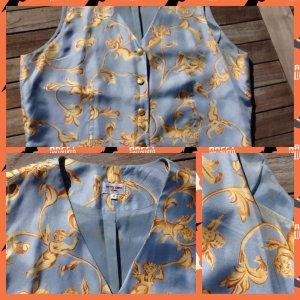 Otto Kern Blouse Top primrose-azure silk