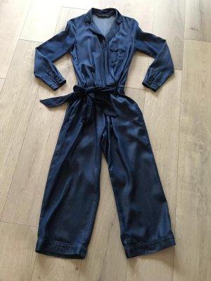 Zara Costume bleu foncé