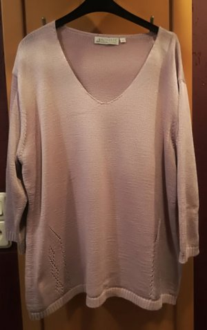 Authentic V-Neck Sweater pink polyester