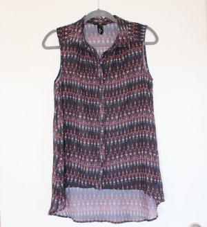 seidige, ärmellose Bluse H&M