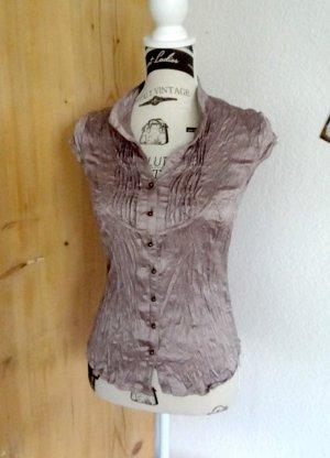 Conleys Blouse grey lilac polyester