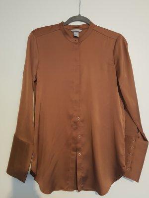 H&M Blouse cognac-coloured-russet
