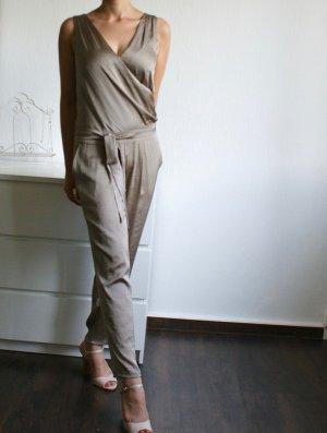 Seidiger Jumpsuit Wickeloptik lang - Esprit Collection S/M
