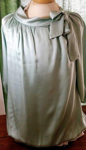 Blusa verde-grigio Poliestere