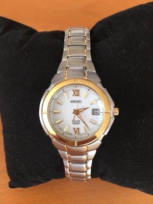 Seiko Damen-Armbanduhr XS Solar aus Edelstahl  NEU m.Rechnung