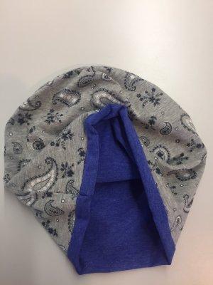 Berretto grigio-blu
