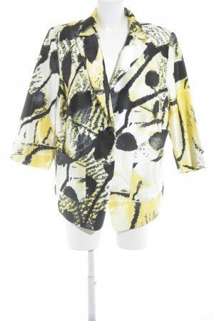 Select by Hermann Lange Lange blazer abstract patroon casual uitstraling
