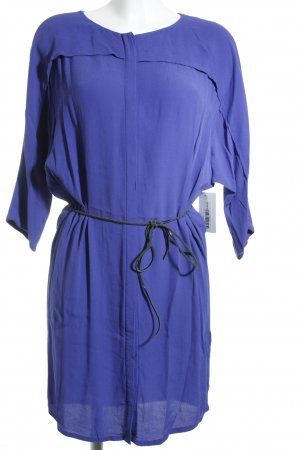 Selected Blusenkleid blauviolett Casual-Look
