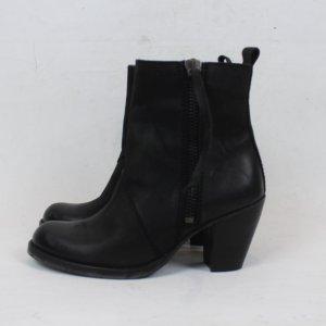 Selected Chelsea laarzen zwart Leer