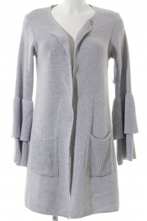 Selected Cardigan hellgrau Kuschel-Optik
