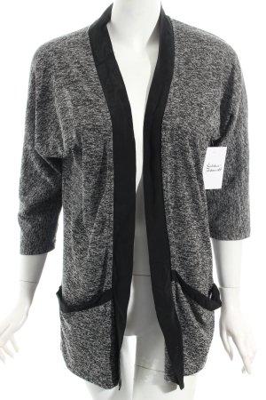 Selected Cardigan nero-bianco puntinato stile casual