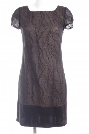 Selected Femme Abendkleid schwarz-nude Elegant