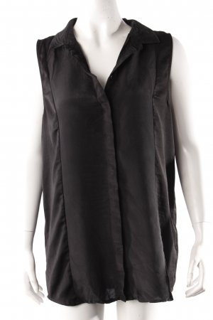 Selected Femme Bluse schwarz