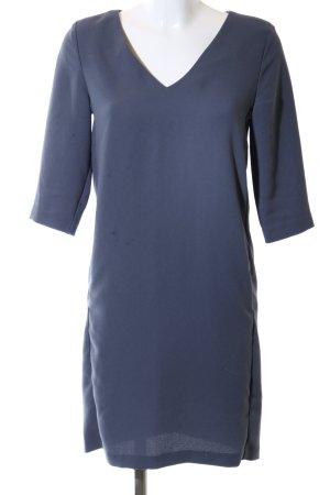 Selected Femme Blusenkleid blau Business-Look