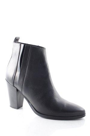 Selected Femme Booties schwarz klassischer Stil