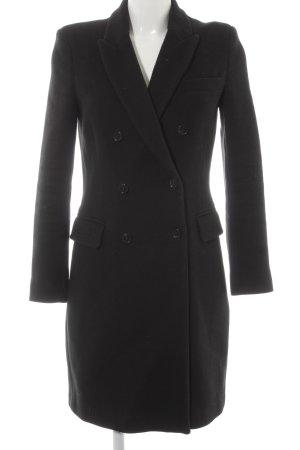 Selected Femme Heavy Pea Coat black elegant
