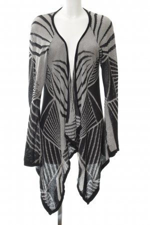 Selected Femme Cardigan black-light grey abstract pattern Gypsy style
