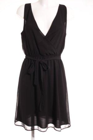 Selected Femme Chiffonkleid schwarz Elegant