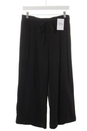 Selected Femme Falda pantalón de pernera ancha negro look Street-Style