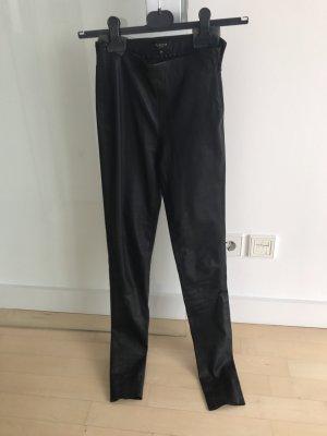 Selected Femme Echt Leder Leggings Hose 34 XS wie NEU