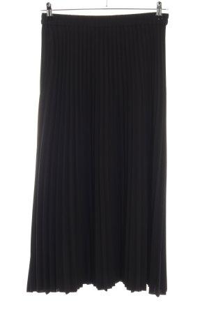 Selected Femme Jupe à plis noir