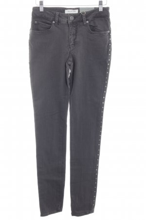 Selected Femme Hoge taille jeans taupe casual uitstraling