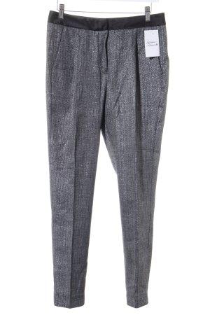 Selected Femme pantalón de cintura baja negro-gris look casual