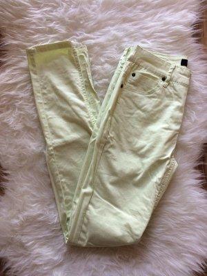 Selected Femme Jeans 38 M neu apfelgrün gelb skinny Röhren Jeans Hose Frühling Sommer