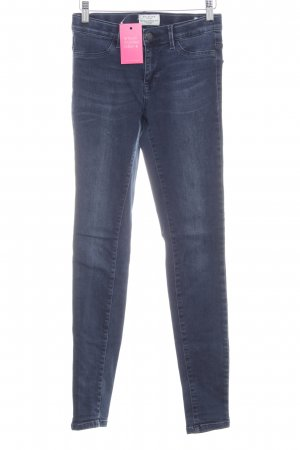 Selected Femme Jeggings azul oscuro look casual