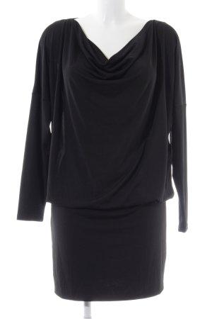 Selected Femme Jerseykleid schwarz Elegant