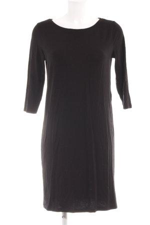 Selected Femme Vestido de tela de jersey negro look casual