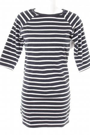 Selected Femme Jersey Dress white-dark blue striped pattern casual look