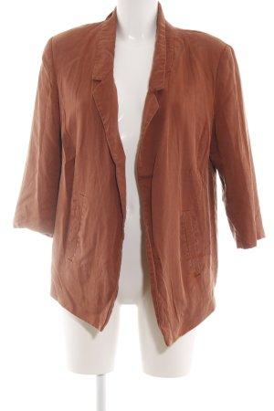 Selected Femme Kurz-Blazer bronzefarben Casual-Look